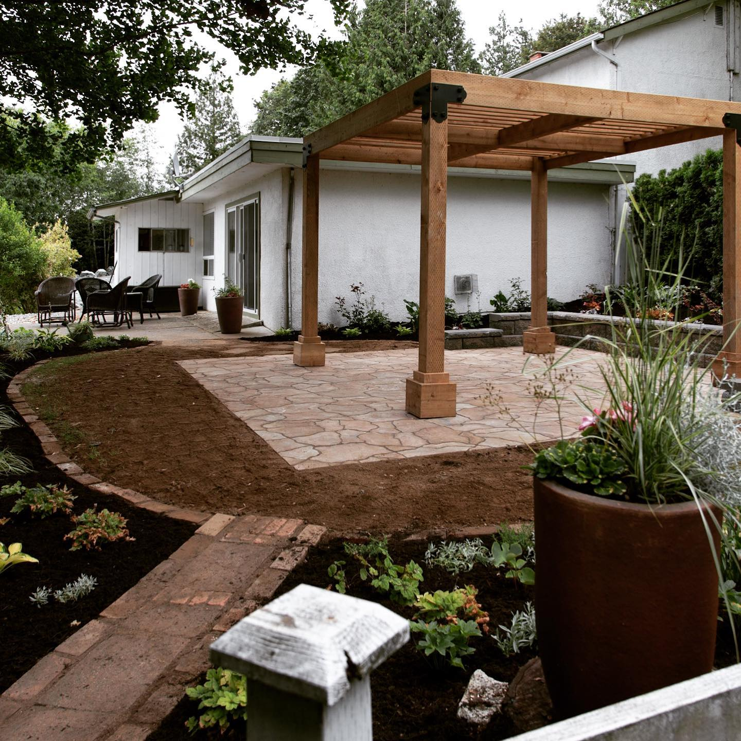 Outdoor landscaping