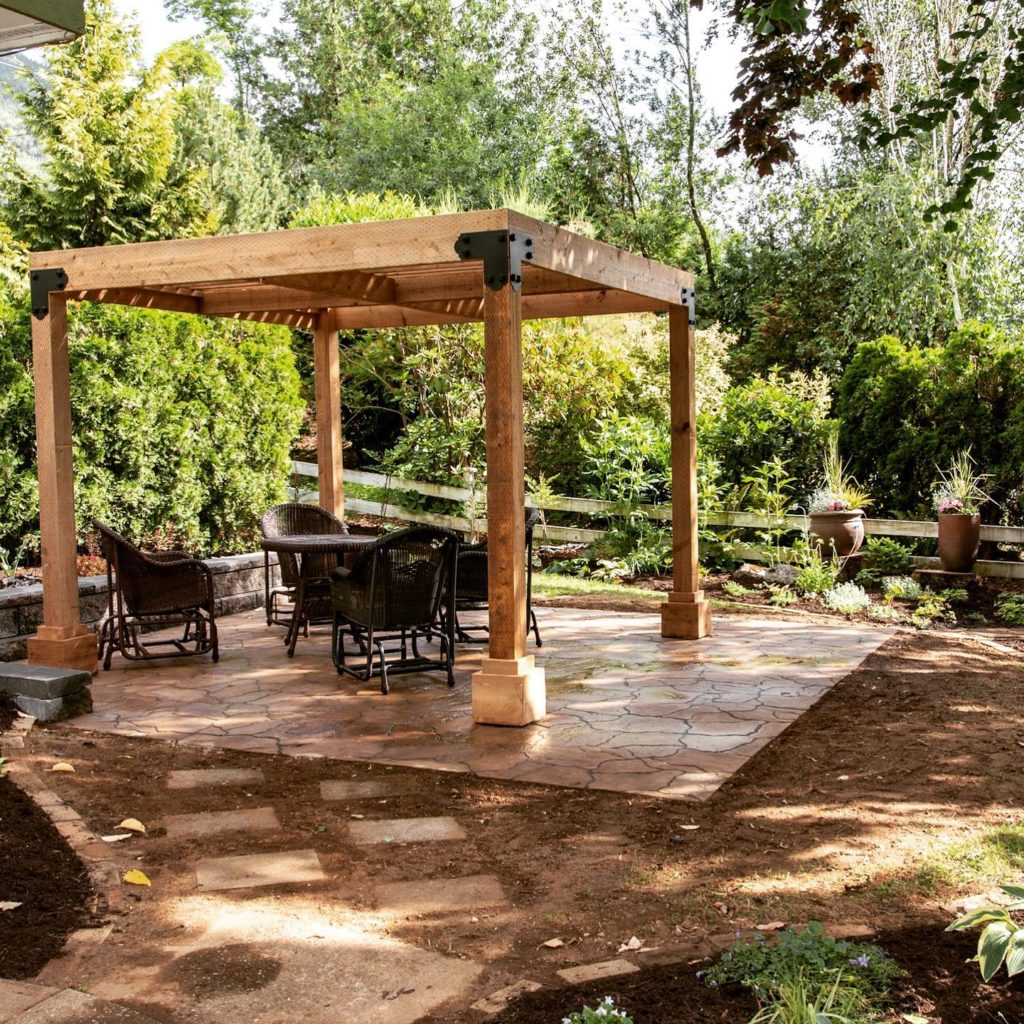 Giving the landscape contractor parameters to work in