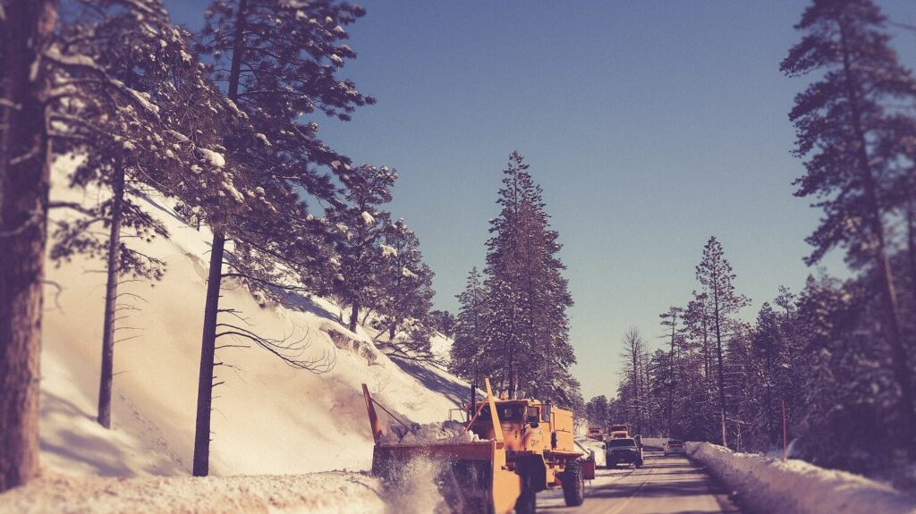 Landscaping and snow removal companies